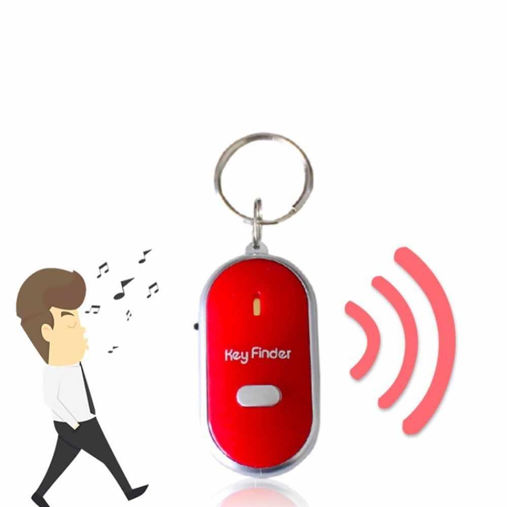 Анти-потеря свисток ключ искатель беспроводной мигающий звуковой сигнал дети ключ сумка локаторы ребенок Сигнализация напоминание ключ искатель дистанционного управления