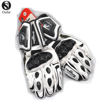 New Motorcycle Racing Knight Leather Gloves Furygan ANTS AFS10 Bicycle Touch Screen Glove