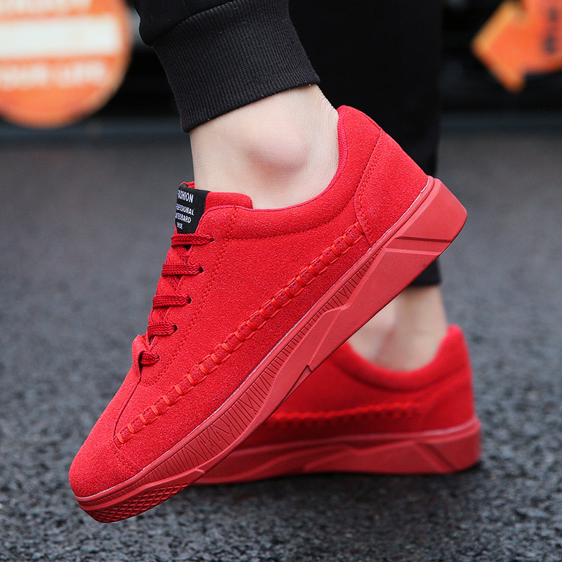 Fashion Men Shoes Casual Male Sneakers Canvas Lace-up Lightweight Comfortable Breathable Walking Sneakers Tenis Masculino