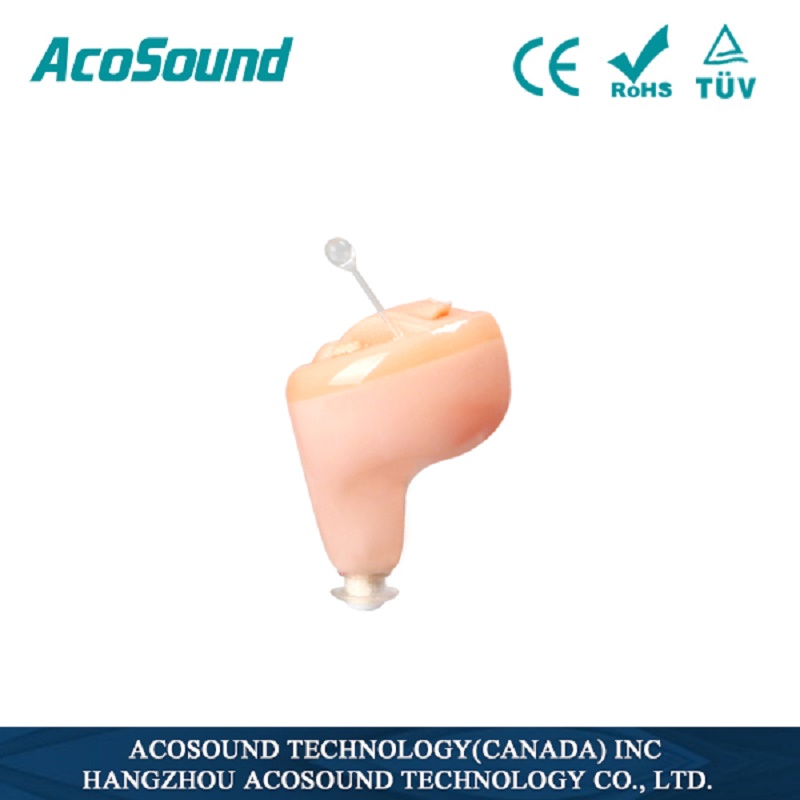 AcoSound S210 Mini Hearing Amplifiers Digital Hearing Aids Small In The Ear CIC Hearing Aid Ear Aid For The Elderly acosound s410 hearing aid digital cic hearing aids for the elderly ear care hearing device invisible sound amplifiers