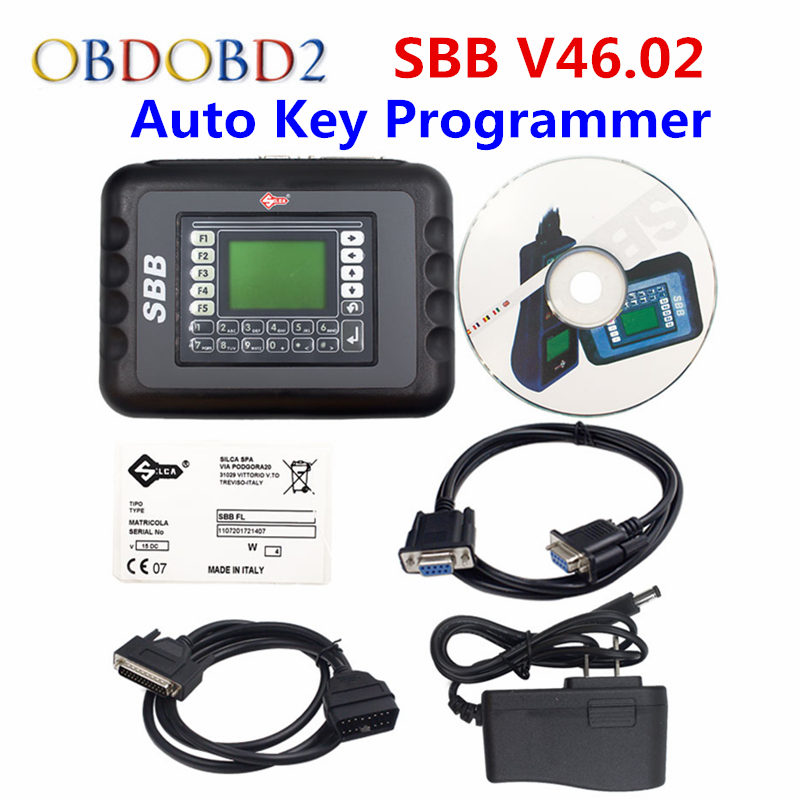 SBB 46.02 Auto Key Transponder Programmer Silca Sbb V46.02 Support Multi-Brands Cars Multi-languages SBB V33.2 Key Maker hot sale universal silca sbb key programmer v33 02 v33 for multi cars sbb auto key maker by immobilizer no token