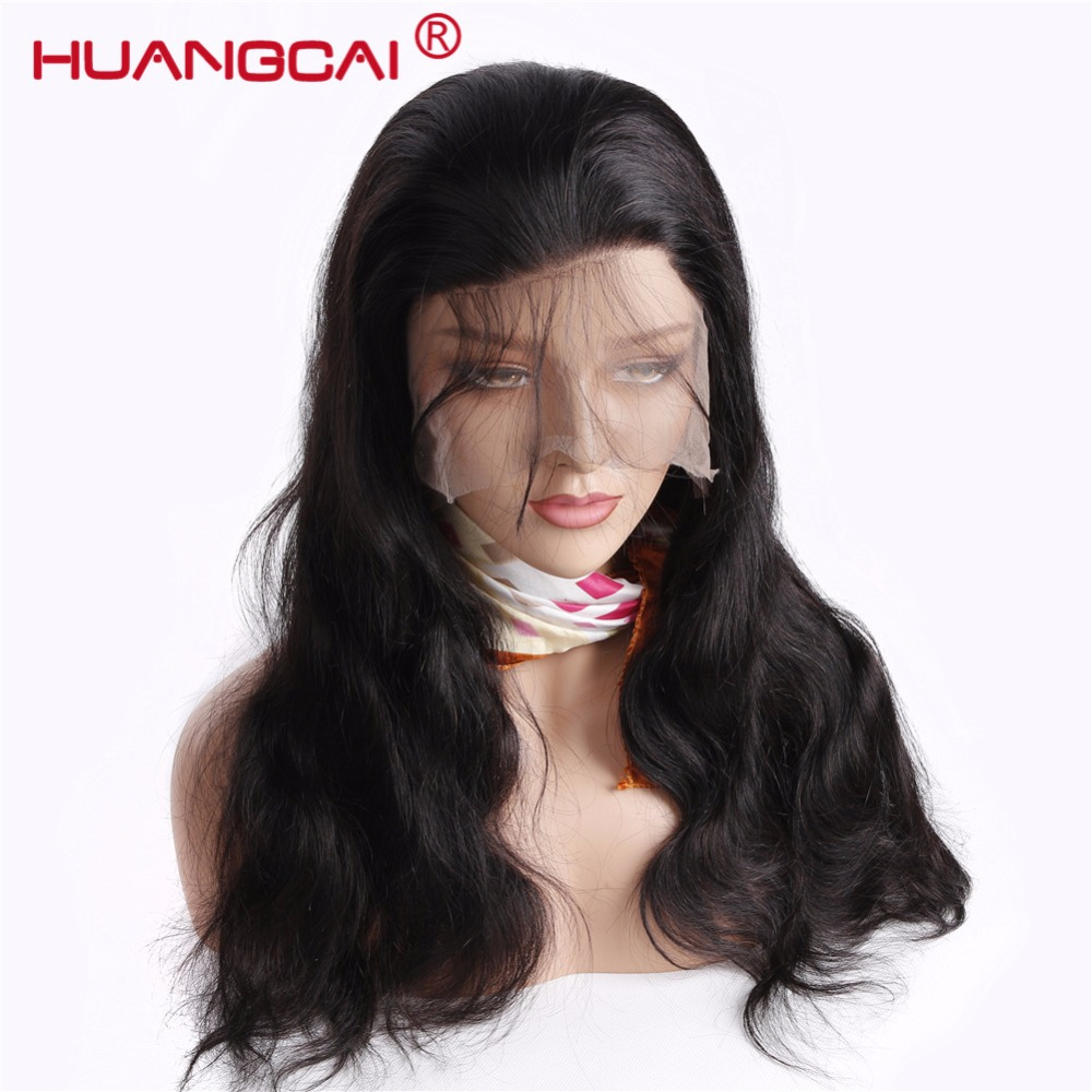 Full Lace Wigs Pre Plucked With Baby Hair Malaysian Body Wave Glueless Full Lace Human Hair