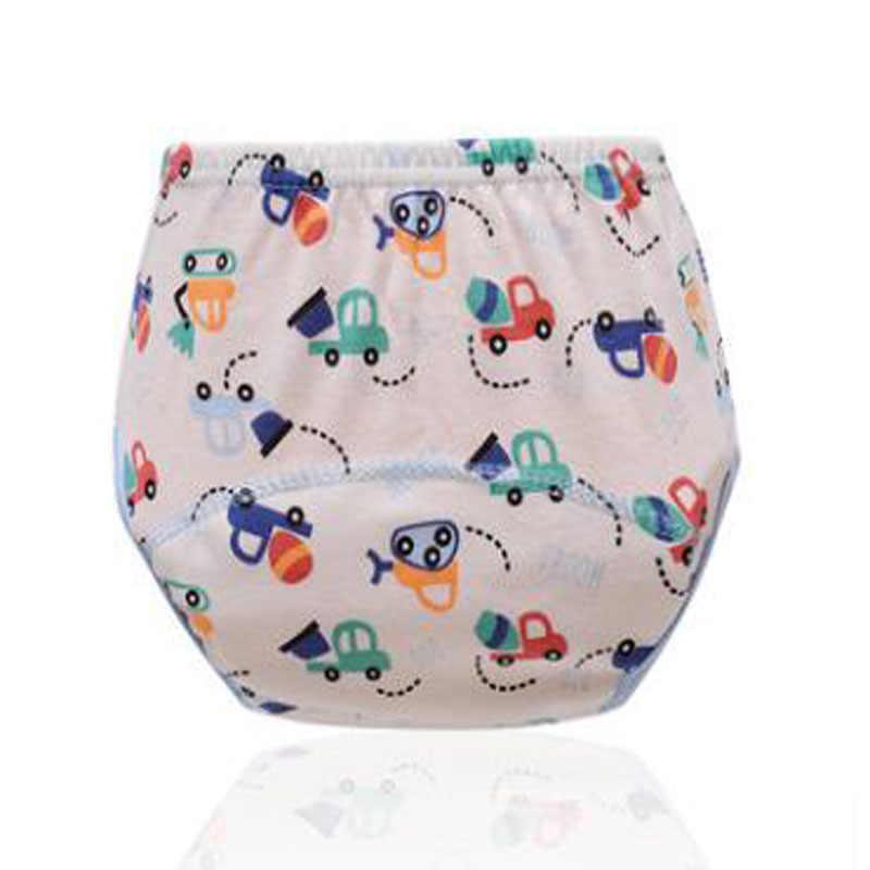 ملابس داخلية للأطفال الرضع مصنوعة من القطن قابلة لإعادة الاستخدام