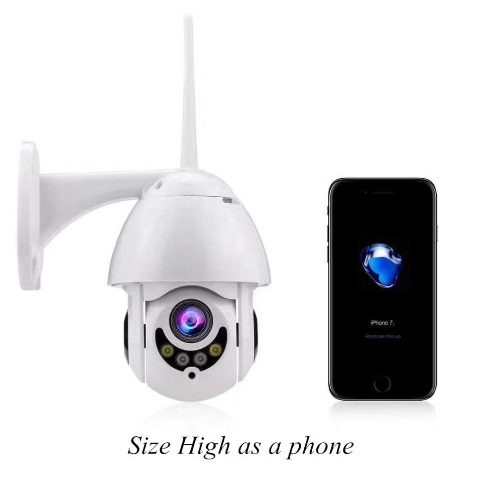 2MP 1080 P 4G Sim карты 5X зум беспроводной домофон PTZ IP скорость купольная камера