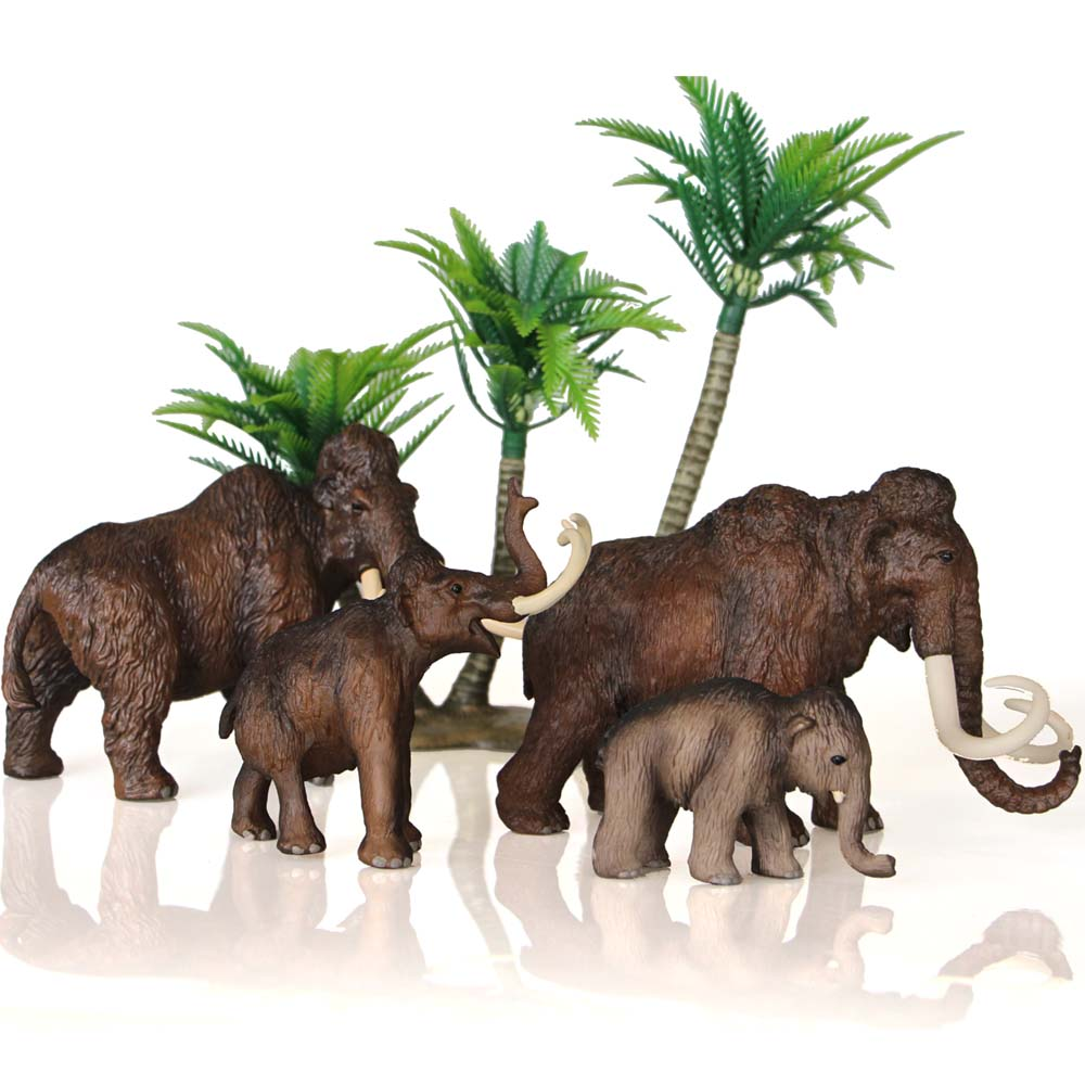 Ice Age Prehistoric Animal A Mammoth In A Walk Collection Children Toys A mammoth in a walk мультиварка ves sk a13 b