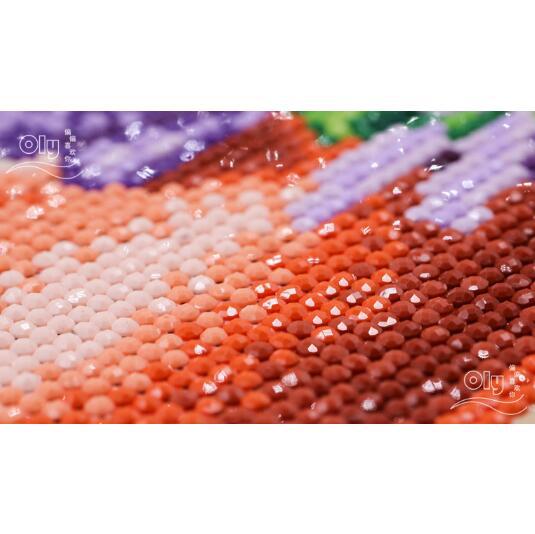 New 5D DIY Diamond Painting Crystal Diamond Mosaic Angel Cross Stitch round Drill Full Home Decor Diamond Embroidery Angel devil