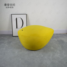 2019New Style Nordic Simple Fashion Sofa Chair Stool Ottoman Cloth Cover Shoe stool bird stool Footstool Leisure Chair u best sex shoe high heel sofa chair indoor fiberglass shoe shape chair for leisure