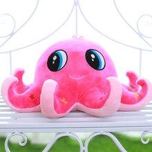 Кукла осьминог плюшевые игрушки морские животные куклы подушка для наклонившись на детскую куклу DSL1020