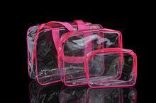 family Household 3PCS Travel Cosmetic Makeup Bag Toiletry Case Hanging Wash Organizer portable Storage Bags стоимость