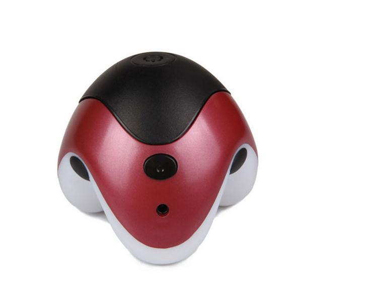 Health care fields UFO triangle massager, electric massager mini massager massage therapy cervical machine 2017 hot sale mini electric massager digital pulse therapy muscle full body massager silver