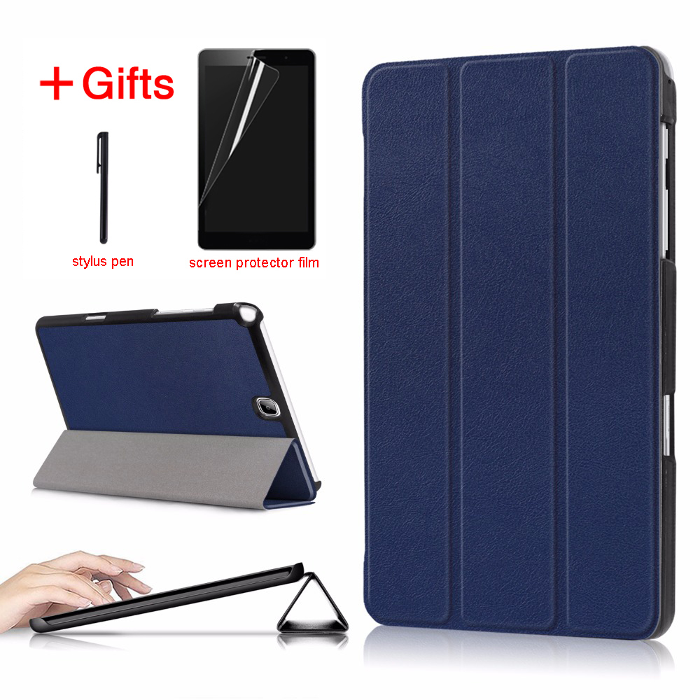 Leather Case For Samsung Galaxy Tab A 9.7 inch SM-T550 SM-T555 SM-P550 SM-P555 tablet cover For Samsung Galaxy Tab A 9.7 case аксессуар чехол samsung galaxy tab a 9 7 sm t550 palmexx smartslim иск кожа black px stc sam taba t550 blac