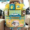 Cartoon Car Storage Bag Organizer Cute Cartoon Car Seat Back Storage Bags Hanging Car Bags Pocket