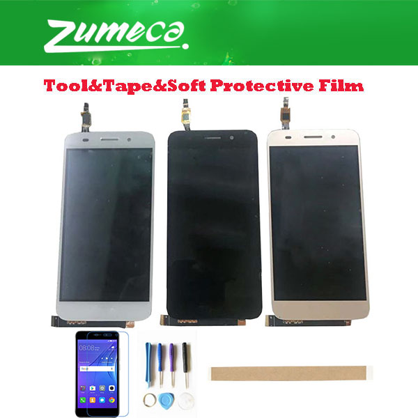 5.0'' For Huawei Y5 Lite 2017 CRO-L22 CRO-L02 CRO-L03 CRO-L23 CRO-U00 Huawei Y3 2017 LCD Display+Touch Screen Digitizer With Kit