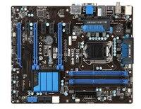 Бесплатная доставка оригинальный материнская плата для MSI Z77A G45 DDR3 LGA 1155 Z77 32 ГБ USB 3,0 для I3 I5 I7 Процессор Z77 Desktop motherborad