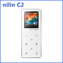 Ni'lin c2 grabadora bluetooth lossless reproductor de mp3 del deporte con alta calidad puede reproductor de 300 horas de Apoyo Ranura Para Tarjeta Micro DEL TF 64/128 GB