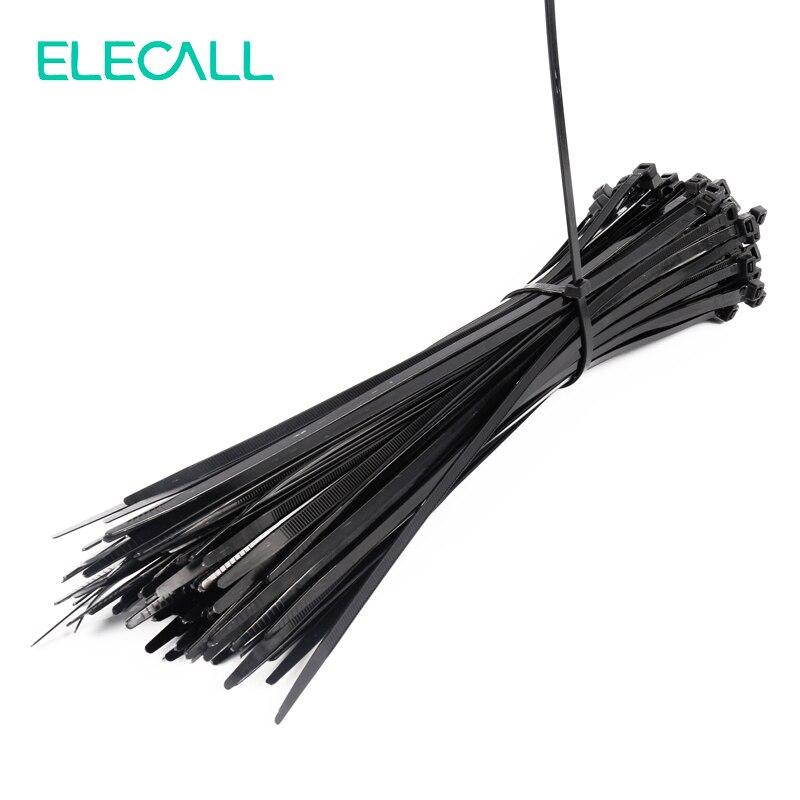 8*300mm Self-Locking Nylon Cable Ties 250Pcs/Pack Cable Zip Tie Loop Ties For Wires Tidy Black metal self locking stainless steel cable ties bundle cable tie cable ties cable tie with 50 200 7 9