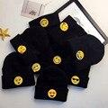 Beanie Шляпы для Женщин Хип-Хоп Улыбающееся Лицо Симпатичные Девушки мужские Шапки Зимние Hat Cap Женская Шапочки Bonnet Femme Gorras MZ019