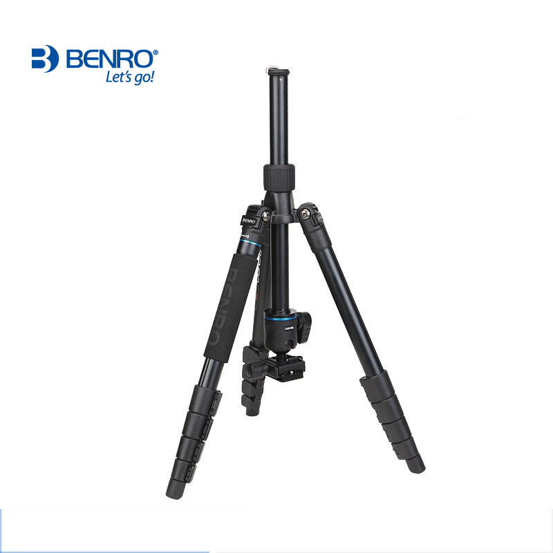 Image 5 - DHL Free Shipping BENRO IT25 Portable Camera Tripod Reflexed Removerble Traveling Monopod Carrying Bag Max Loading 6kg-in Tripods from Consumer Electronics