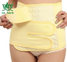 Cn Herb Body Sculpting Cotton Absorbent Belly Warm Caesarean Section Fat Burning Postpartum Shaping Thin Waist Belt