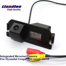 Liandlee For Hyundai Coupe SIII 2002~2008 Car Reverse Parking Camera Backup Rear View Camera / SONY CCD Integrated Nigh Vision liandlee for audi rs6 2008 2009 car rear view backup parking camera rearview reverse camera sony ccd hd integrated nigh vision