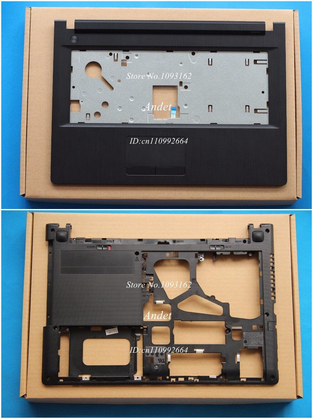 bilder für Neue Original Für Lenovo G40 G40-30 G40-45 G40-70 G40-80 Z40 Z40-30 Z40-45 Z40-70 Z40-80 Palmrest Abdeckung Ober Fall + Bottom basis