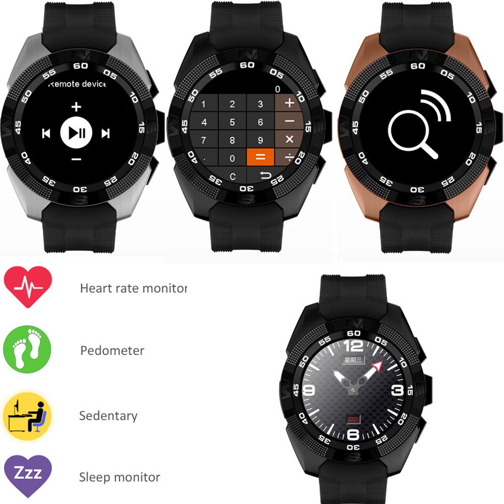 Sport Screen Touch Bluetooth Wrist Smart Watch with Heart Rate Monitor Massager Pedometer for Android IOS Samsung LG iPhone HTC стоимость