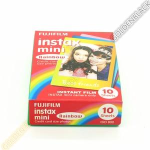 Image 3 - 2 pièces original Fujifilm Instax Mini Film de dessin animé instantané arc en ciel 2 paquets pour polaroid Mini 11 9 7 7s 8 25 50s 90