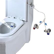 Без электричества холодной и горячей воды биде горшок туалет микро мягкой воды распылитель