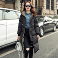 European Station 2015 New Fashion Women Long Winter Jacket Ladies Warm Overknee Thicken Down Doudoune Femme Marque