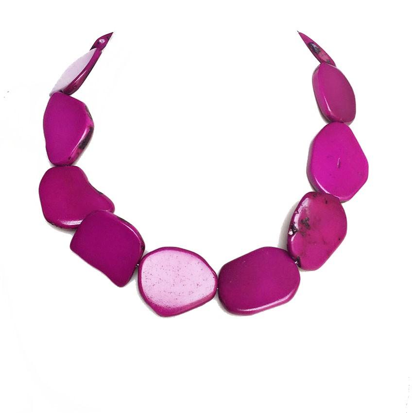 collar stone necklace