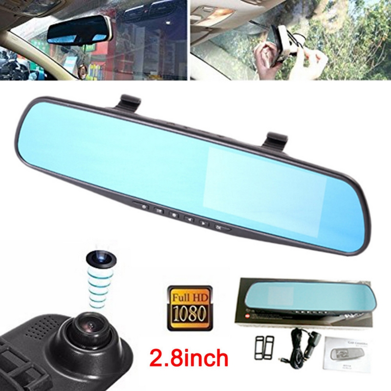 1080P HD Car DVR Camera Mirror For Suv Various Cars 120 Degree Auto Driving Recorder Camera 12.0MP Dash Cam Car Camera Mirror xycing car dvr 360 degree rotating suction cup bracket car holder 3 pin connector for g50 g55 g52d gs52d car dvr camera