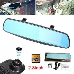 Image 1 - Full HD 1080P Car DVR Camera Mirror For Suv Cars 120 Degree Auto Driving Recorder Camera Vehicle Dash Cam Car Camera Mirror