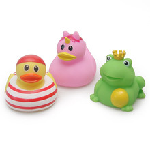 2019 NEW classic Baby bath floating rubber duck toy cute unicorn frog sailor birthday Party dress