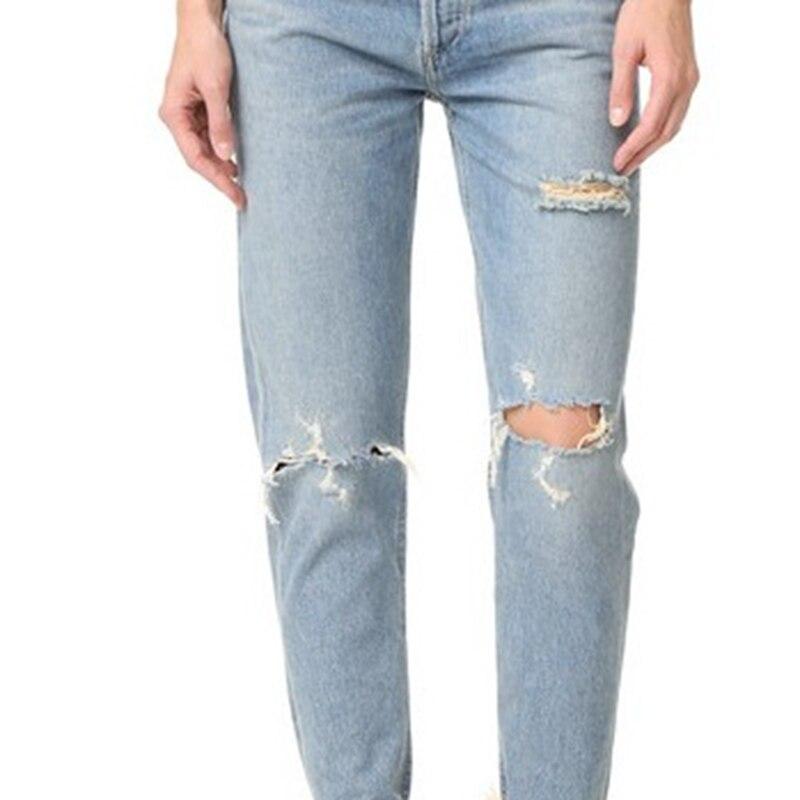 Aliexpress.com : Buy New Women Pants Boyfriend Hole Ripped Jeans ...