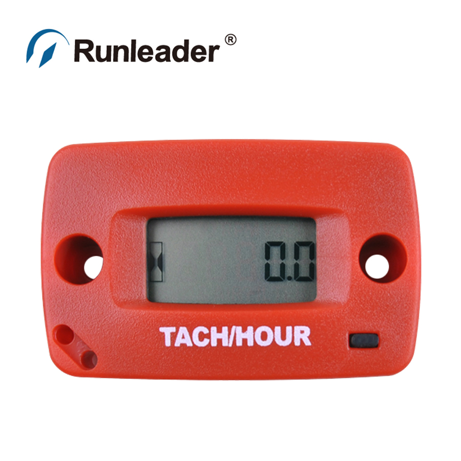 Waterproof digital tach Tachometer Hour Meter RPM meter for Marine ATV Motorcycle Snowmobile jet ski jet boat pit bike dirt bik