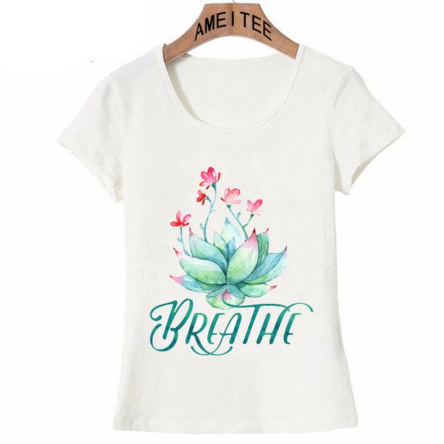 Seven Chakras Mindfulness Meditation Yoga Women T-Shirts