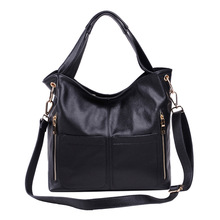 High quality new style lady shopping handbags made by genuine leather women crossbody messenger bags fashion shoulder bags 2015