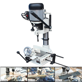 Square Hole Machine Punching Home Multi-function Woodworking Eye Drilling JCM361A