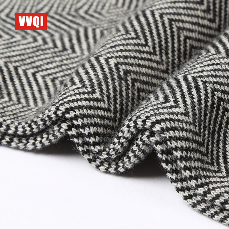 VVQI Autumn/winter man socks simple stripe character street style mens leisure comfortable tube cotton dress novelty fun socks