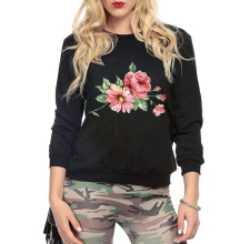 Cute Flower Print Jumper