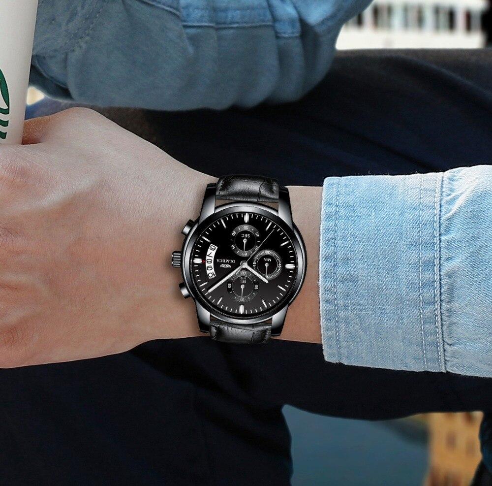 6846a244610 OLMECA Relógio Militar Relogio masculino Relógios Moda Relógio de ...