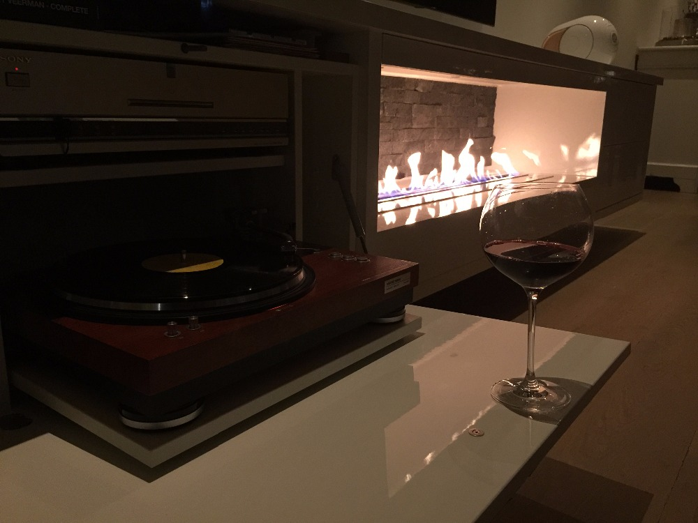 On Sale 60'' Bioethanol Fireplaces With Remote Cheminee Ethanol Decorative