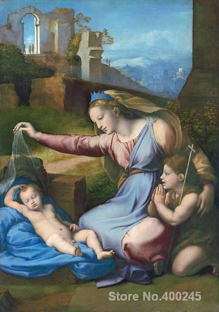 Madonna con una diadema azul