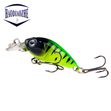 цена 4cm 3.5g Swim Fish Fishing Lure Artificial Hard Crank Bait Topwater Wobblers Lifelike SwimBait Japan Mini Fishing Crankbait Lure онлайн в 2017 году