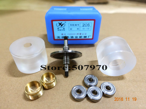 L63mm para Corte do Fio Assento Plástico Polia Completo Od40 * Edm Assembly206