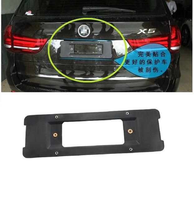 Задний Монтажный Кронштейн Номерного знака Тегов Держатель для BMW 3/5/7 Серии X1 X3 X5 X6