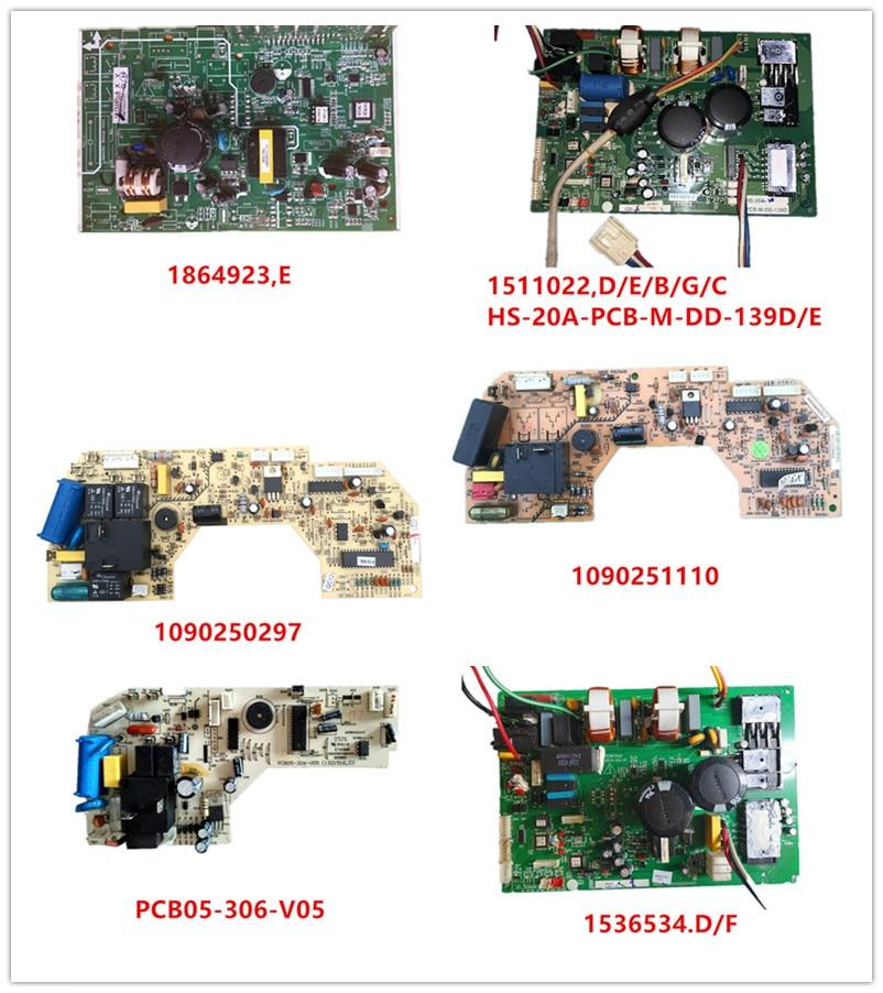 1864923,E| 1511022,D/E/B/G/C HS-20A-PCB-M-DD-139D/E| 1090250297| 1090251110| PCB05-306-V05| 1841113.A/B/C/E| 1536534.D/F Used