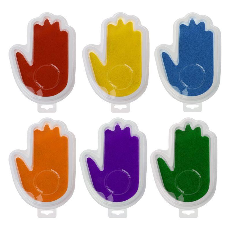 Hell Baby Sicher Drucken Tinte Pad Tintenlosen Fußabdruck Handabdruck Kit Andenken Maker Erinnerungen Souvenir Geschenke Neugeborenen Hand Fußabdruck Makers Ruf Zuerst