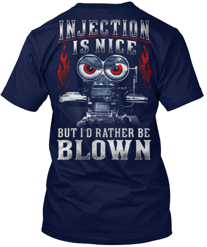 Need-for-speed _ Drag Racinger - Injection Is Nice But popular Tagless Tee T-Shirtknitted comfortable fabric