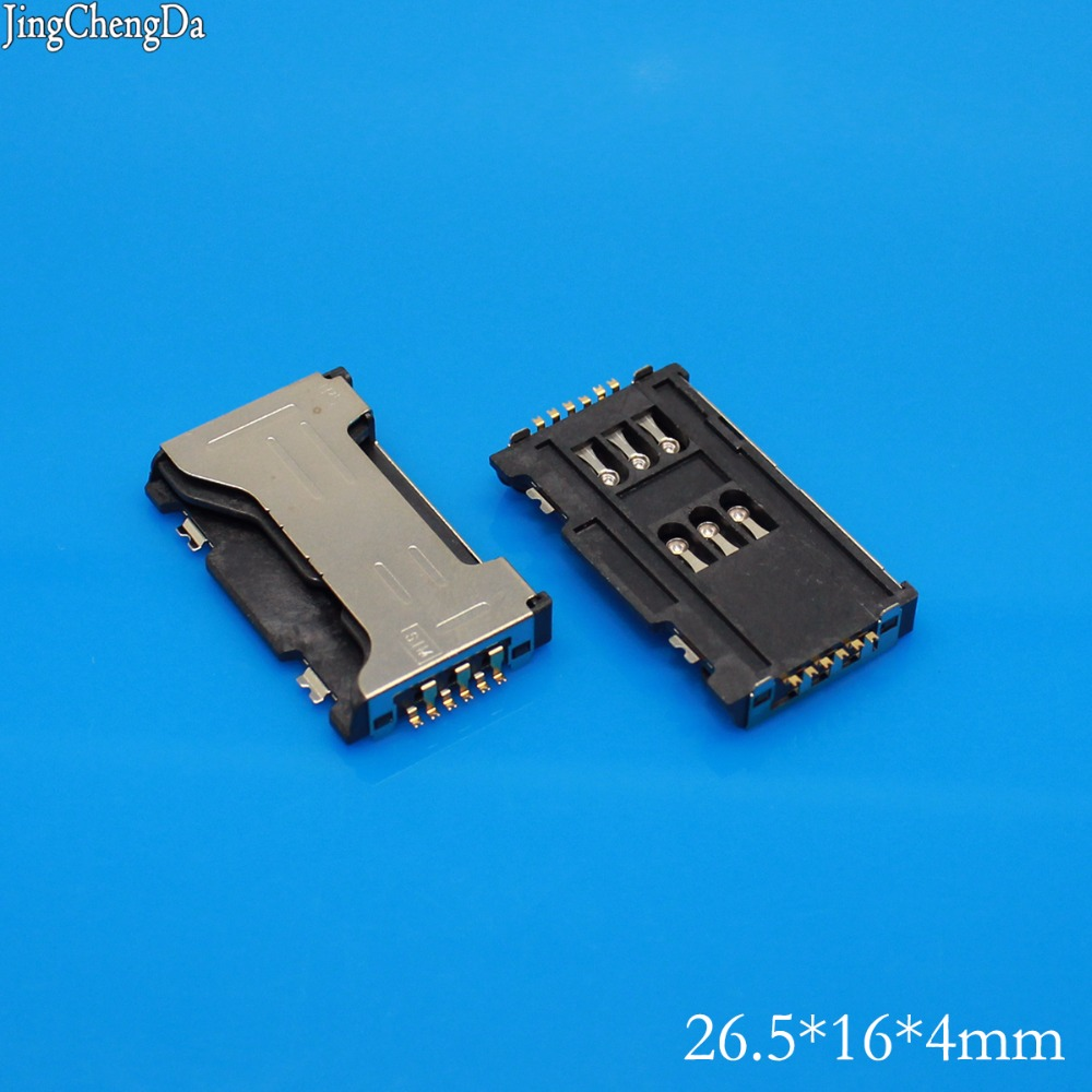 US $0 25 10% OFF|JCD Sim card reader connector module holder slot for  Samsung Galaxy S Duos S7562 S7562I c6712 i8262D I589 I739-in Mobile Phone  Flex